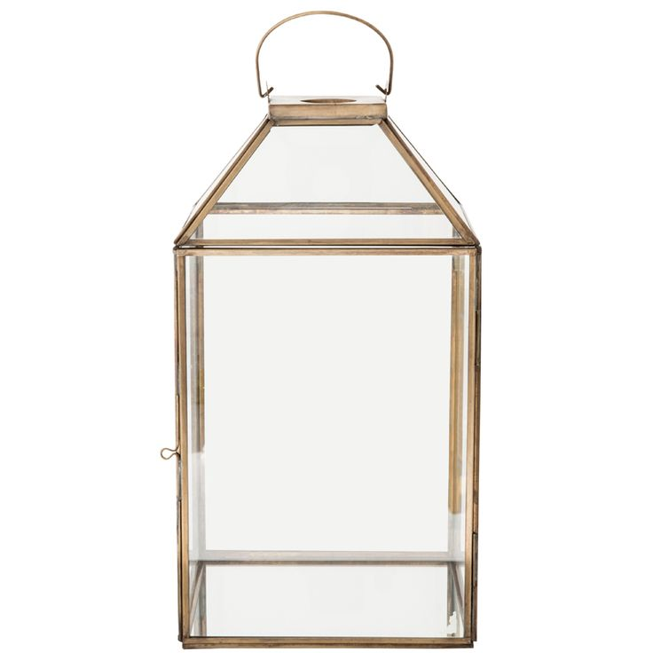 Brass Lantern – 38cm R995