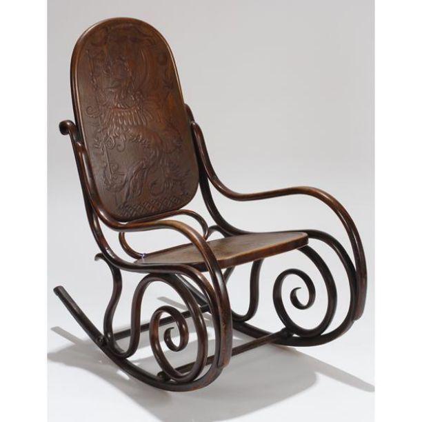 Bentwood Rocking Chair By Jacob Amp Josef Kohn Triptod Com