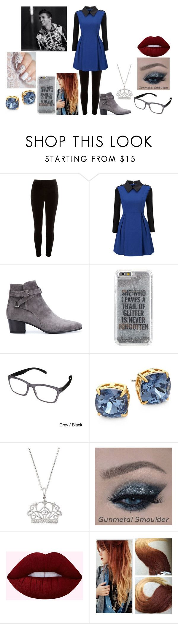 """Hanging Out With Tyler Joseph"" by teenaged-aliens ❤ liked on Polyvore featuring River Island, WithChic, Yves Saint Laurent, Agent 18, Hot Optix, Tory Burch and Bloomingdale's"