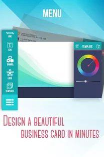 Business Card Maker & Creator- screenshot thumbnail