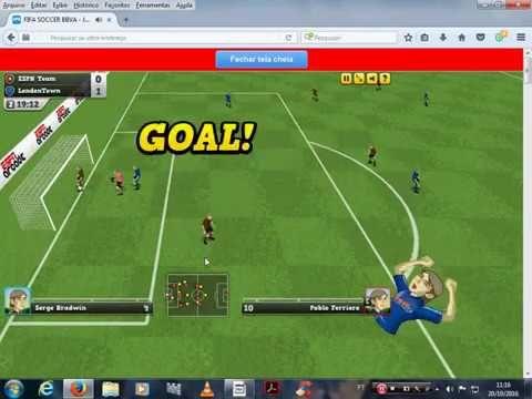 THE LOBO 2080 (YOUTUBE): JOGANDO ONLINE GAME FIFA SOCCER BBVA FUTEBOL !!!!