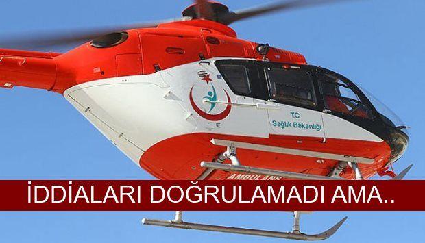 Çanakkale Sağlık İl Müdürlüğü bünyesinde Ambulans Helikopter olarak kullanılan kiralık helikoptere haciz konmasıyla ilgili iddialara Sağlık İl Müdürü Dr.Ali Taşçı'dan açıklama geldi.