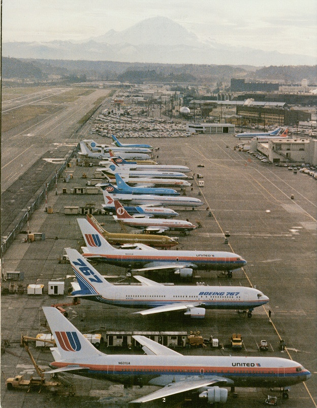 Boeing report to stockholders 1982