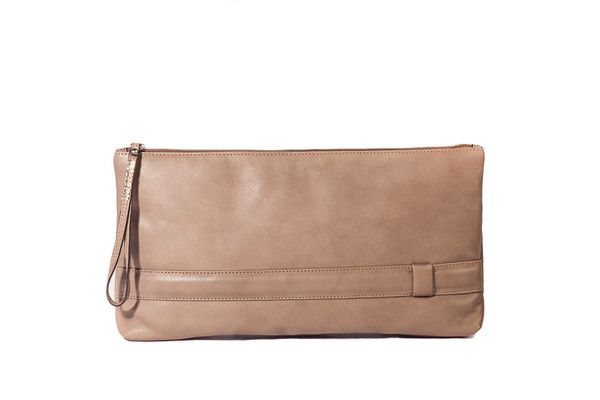 Del Conte Leather Clutch, 100% made in Italy. | Shop online at Pelleitalianleather.com