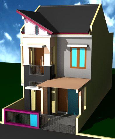 Desain Rumah Minimalis Modern 2 Lantai 2013 - Rumah Minimalis
