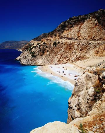 Kaputas Cove and Beach, Turkey. This is where I am going on holiday in 6 months. YAY.