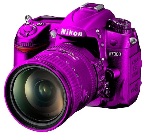 nikon d7000. does it actually come in purple? I want it.