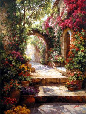 The Art of Paul Guy Gantner -------------- Entrance to a dream