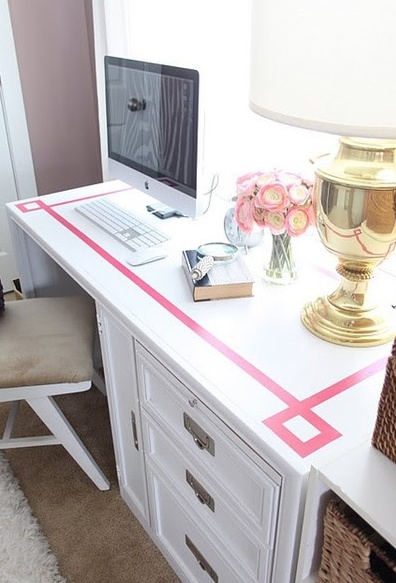 Such an easy thing to do for a desk or even a wall