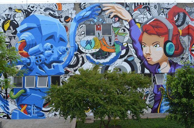 Mural Street Art São Paulo, Brazil - South America's Biggest City- Sao Paulo Brazil