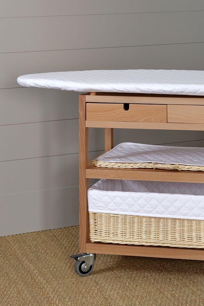 tabla plancha con ruedas medidas 86 x 112 28 x 46 cm mueble con ruedas dos cajones. Black Bedroom Furniture Sets. Home Design Ideas