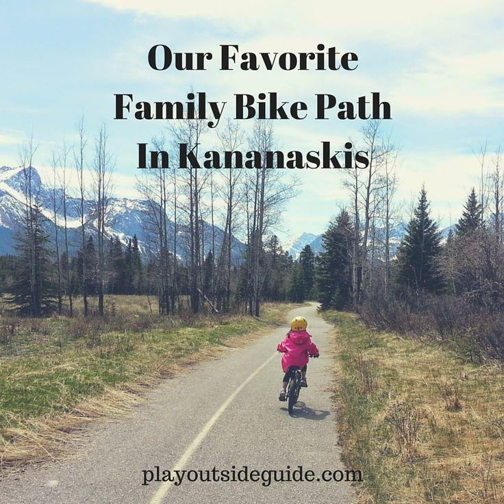 Play Outside Guide: Our Favorite Kananaskis Bike Path - TRIP REPORT