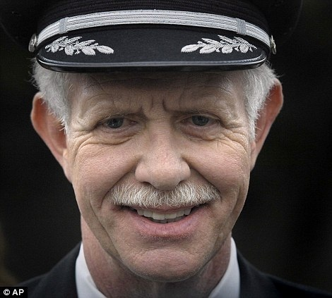 Miracle On The Hudson Airplane Captain Sully Sullenberger   Sullenberger gained fame when he successfully ditched US Airways Flight 1549, which had been disabled by striking a flock of Canada geese during its initial climb out, over the Hudson River off Manhattan, New York City, on January 15, 2009. All of the 155 passengers and crew aboard the aircraft survived.