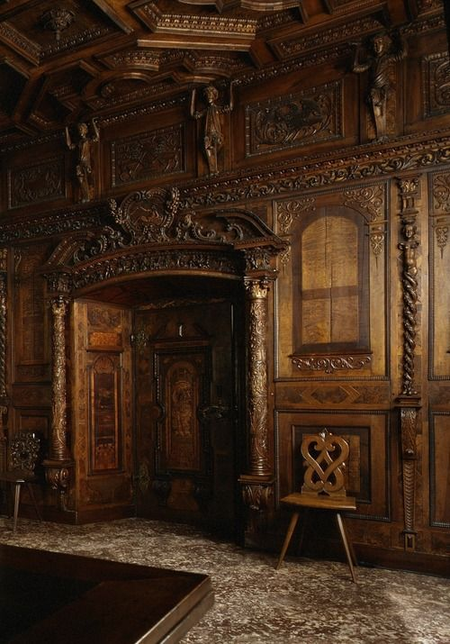 Ancient Castle Door, Switzerland photo via patricia
