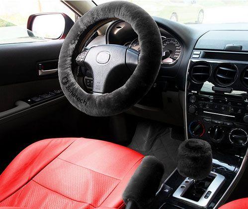 Zone Tech heated steering wheel cover.