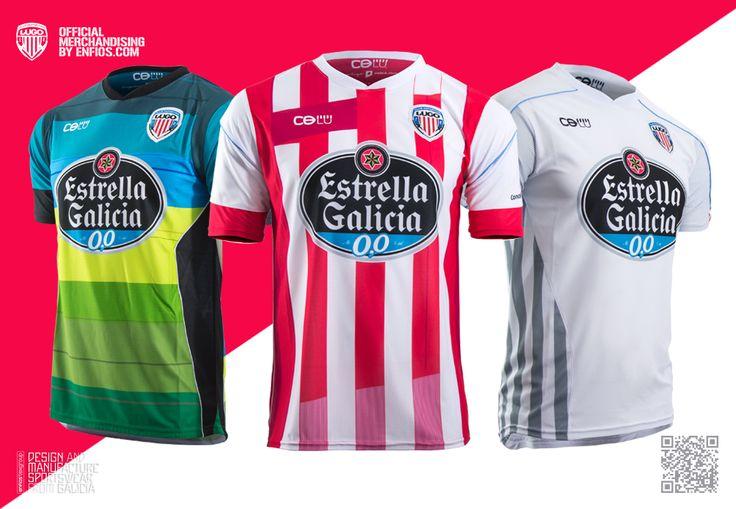 Camisetas Oficiales CDLU T.14/15
