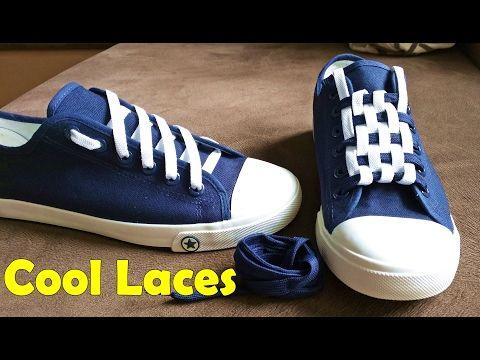 66d83a824211e5 5 formas increíbles de amarrar tus agujetas. Serás la envidia de tu salón -  YouTube | cosas de ponerse | Cordones para zapatos, Atarse los zapatos y ...