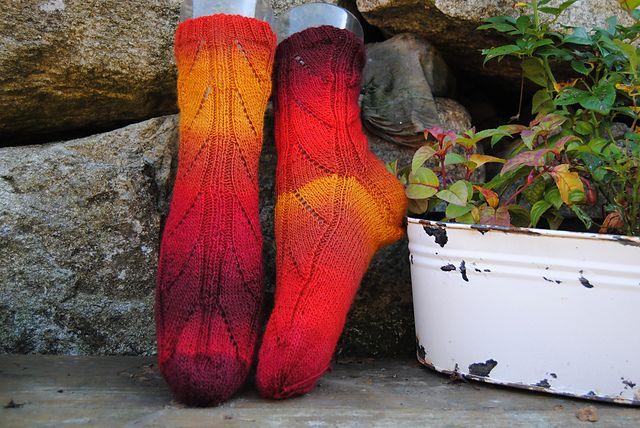 Ravelry: Jorunn sokken pattern by Marianne Steinnes