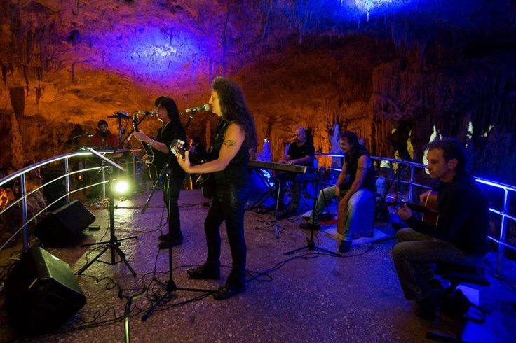 Ioannina 5th Rock City Fest -Cave of Perama-Cave Metal -George Gakis, the Troublemakers & Joe Lynn Turner.Ιωάννινα 5ο Rock City Fest-Σπήλαιο Περάματος . Cave Metal- Γιώργος Γάκης , οι Troublemakers & Joe Lynn Turner.
