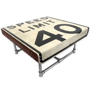 Road Sign Furniture