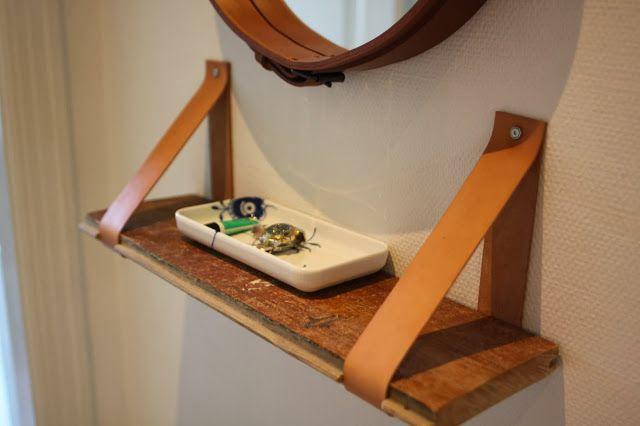 Minimeandhe: Hylde: bræt og læder