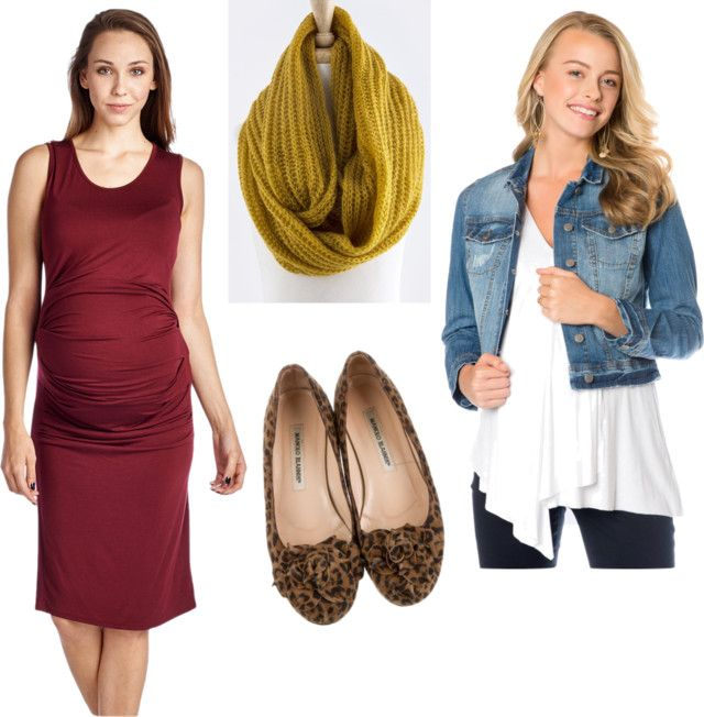 Fall Maternity Photo Shoot Outfit Ideas