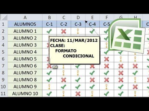 Excel Facil Truco #31: Formato Condicional para Calendario - YouTube