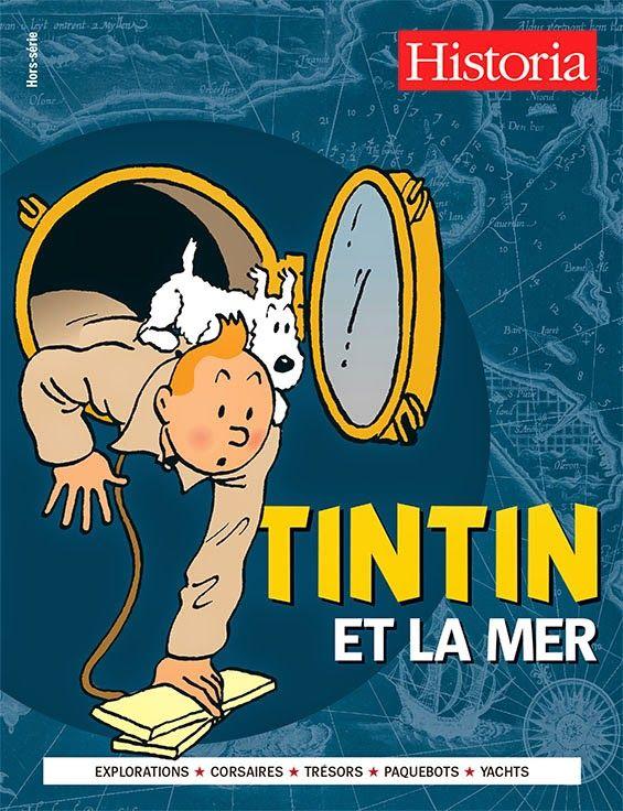 As Leituras do Pedro: Nas bancas: Tintin et la Mer A revista Historia revisita os álbuns do mais famoso repórter e parte numa viagem emocionante pelo mundo marinho. Jangada improvisada, paquete transatlântico ou submarino, as explorações no mar alto sucedem-se nas aventuras de Tintin. Embarcar nessas histórias, é também velejar para o passado, recente ou distante, para revisitar os portos, as baías ou os recifes e encontrar as fontes de inspiração de Hergé. Já à venda em Portugal