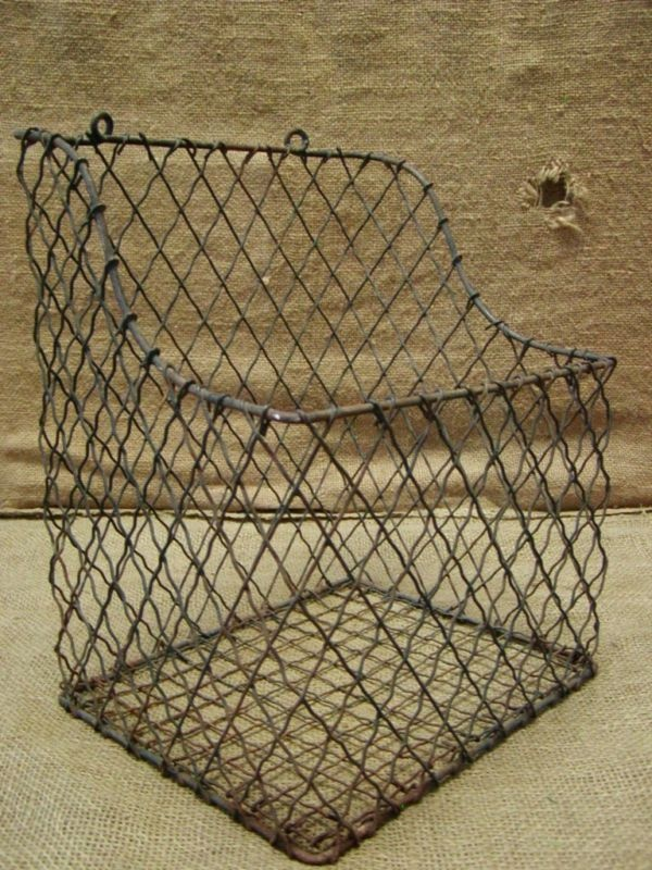 31 best wire baskets. images on Pinterest | Vintage wire baskets ...