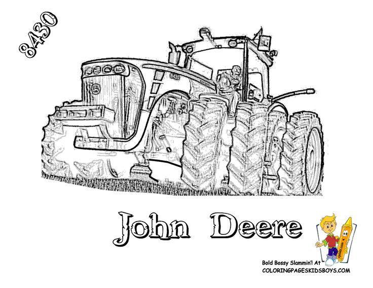 John Deere 8430 Tractor Coloring Page. You Can Print Out and Color This Picture...   http://www.yescoloring.com/images/28_tractor_deere_8430_coloringkidsboys.gif