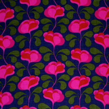 Porin puuvilla fabric by Juhani Konttinen  1964-66