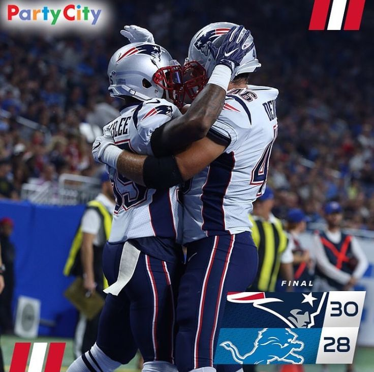 SG3 sends The Pats home with The Win #Clutch #NEvsDET