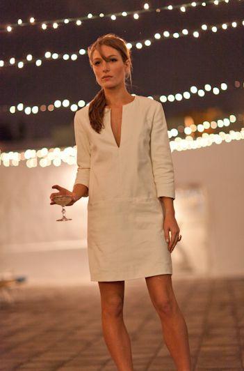..vestido lino