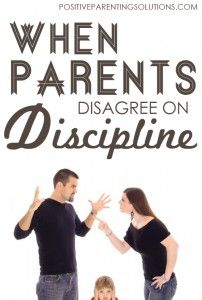 When Parents Disagree on Discipline -  5 Strategies to Bring You Together
