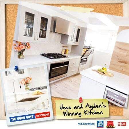 #theblock #jess&ayden winning #kitchen inspiration #thegoodguys #home