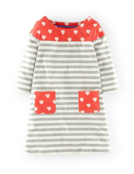 Stripy Hotchpotch Dress 33345 Day Dresses and Pinnies at Boden