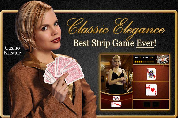 Strip poker and strip black jack
