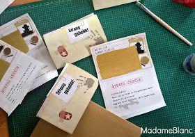 Detektivparty Kindergeburtstag Einladungen