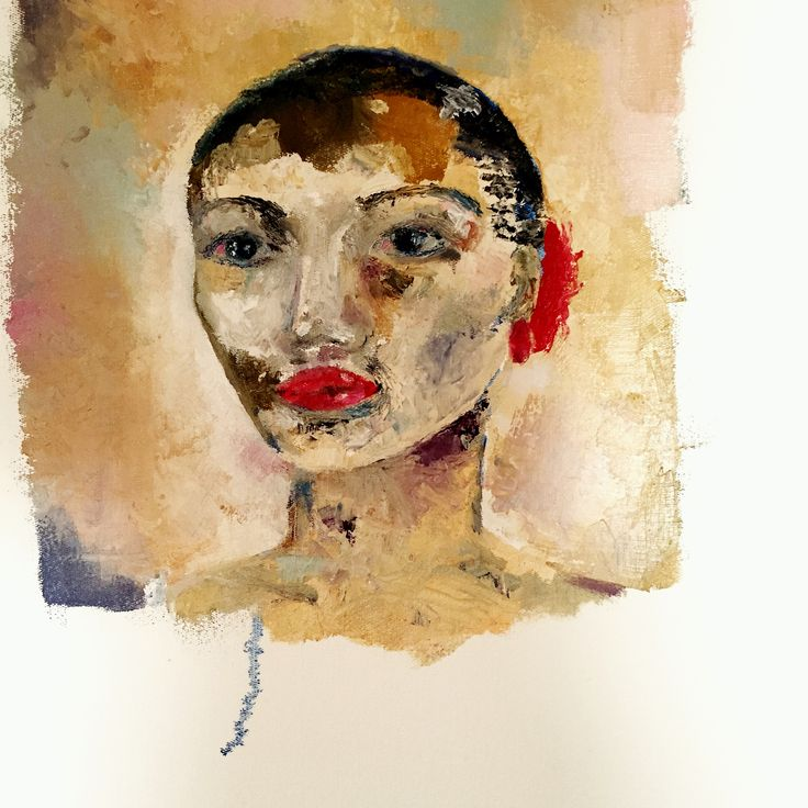 """Natalie"" oil on canvas"