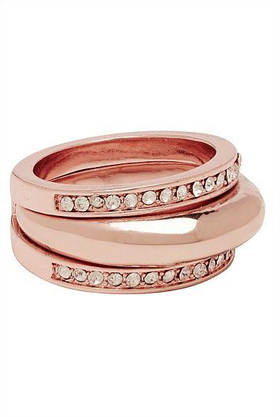 Stacked Metal Ring #witcherywishlist