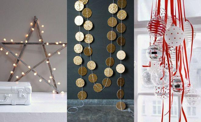 Kerst knutselen! Nog meer DIY kerstdecoraties