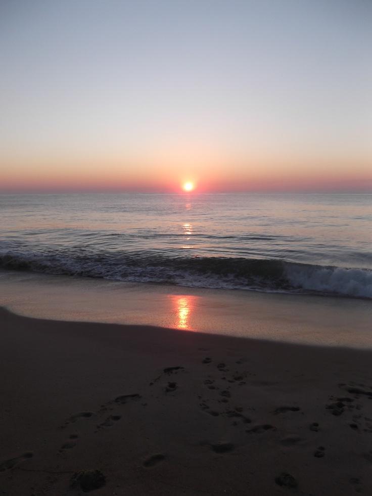 sunrise on Bethany Beach