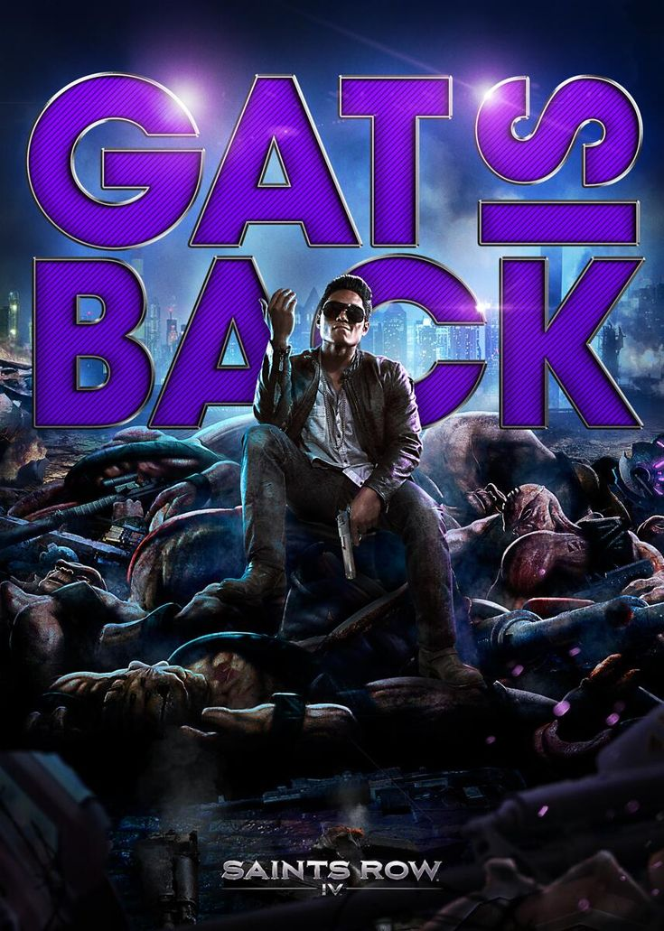 Saints Row 4 Gat Is Back by xkalipso.deviantart.com on @deviantART
