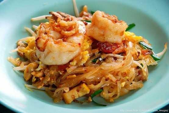 shrimp pad thai   {Cook Things}   Pinterest