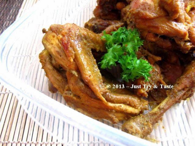 Just Try & Taste: Ayam Ungkep Bumbu Kuning