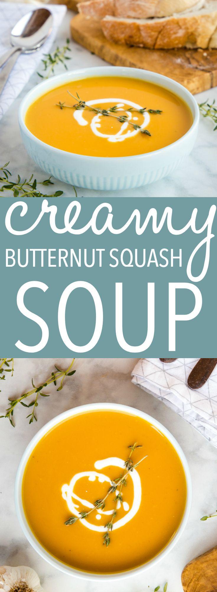 Creamy One Pot Butternut Squash Soup
