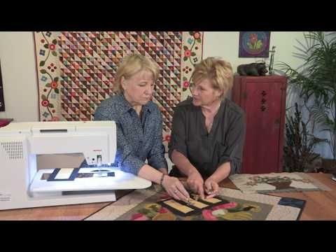 BERNINA Videos BERNINA HandLook Blanket Stitch Machine Magnificent Hand Stitch Look Sewing Machine