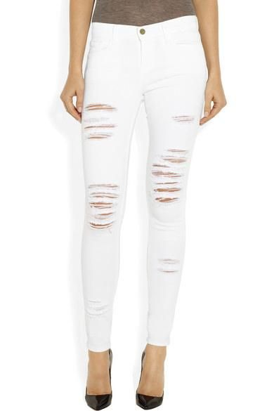 27 pairs of white jeans we fell for!