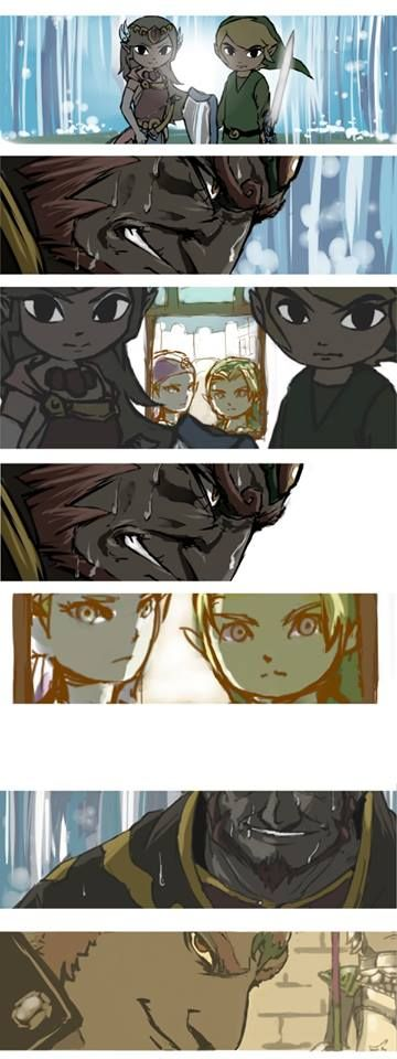 The Legend of Zelda Wind Waker, And Ocarina of time. This is Epic!!! XD
