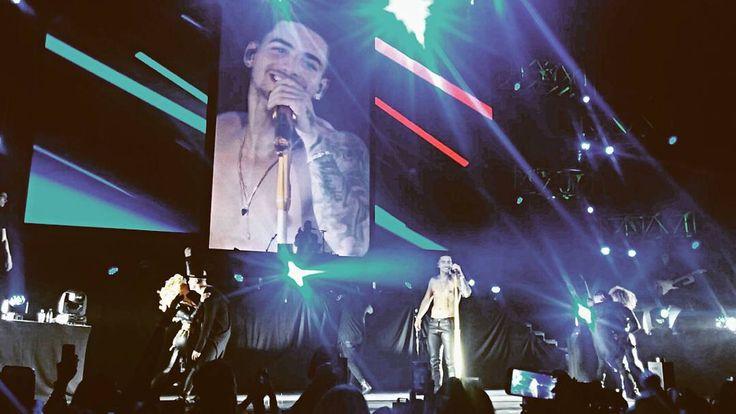 Maluma brindó exitoso concierto en el Luna Park